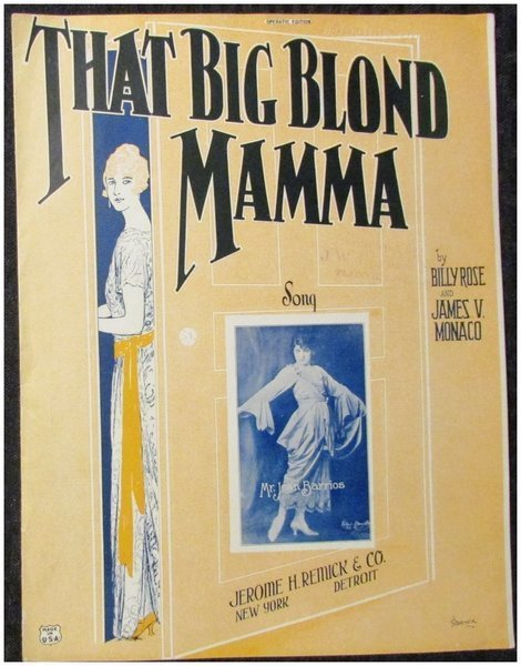 Download the full-sized image of That Big Blond Mamma