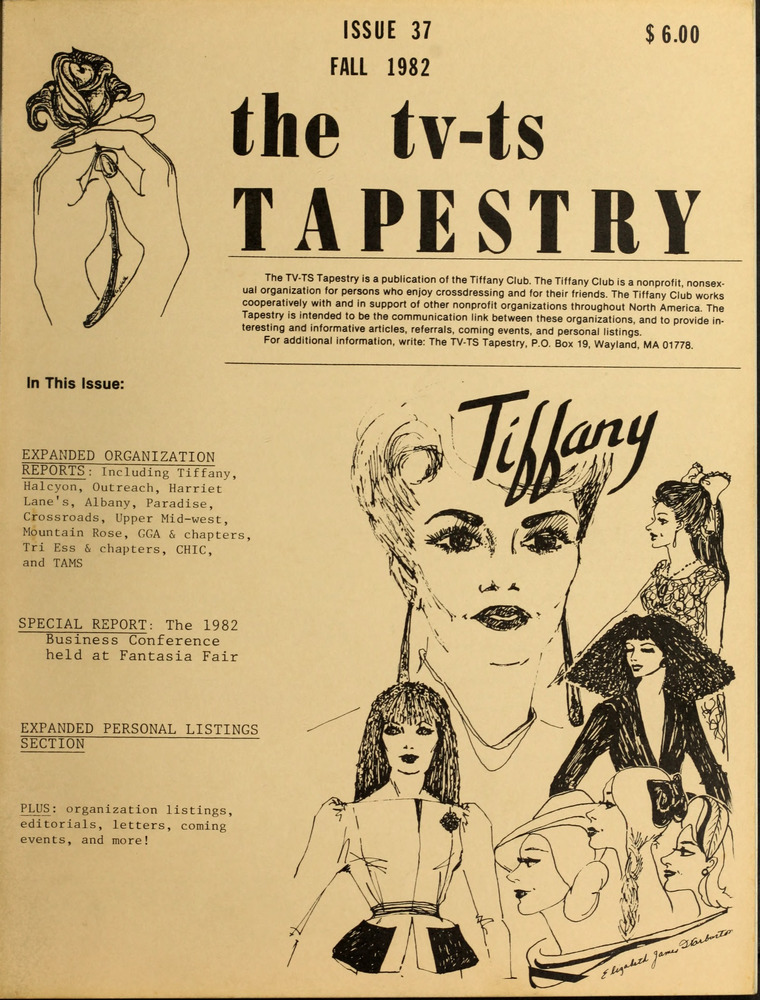 Download the full-sized image of The TV-TS Tapestry Issue 37 (Fall, 1982)
