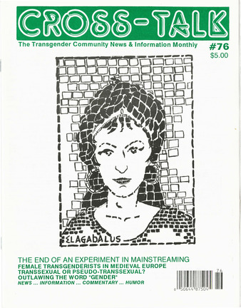 Download the full-sized PDF of Cross-Talk: The Transgender Community News & Information Monthly, No. 76 (February, 1996)