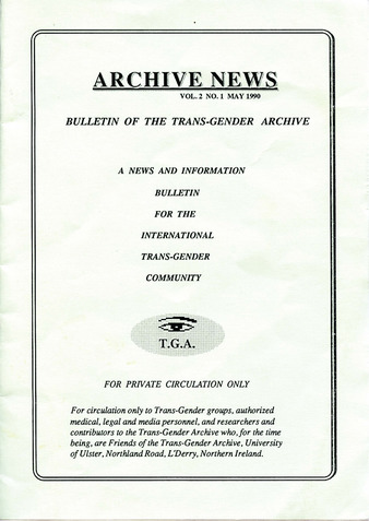 Download the full-sized PDF of Archive News Vol. 2 No. 1 (May, 1990)