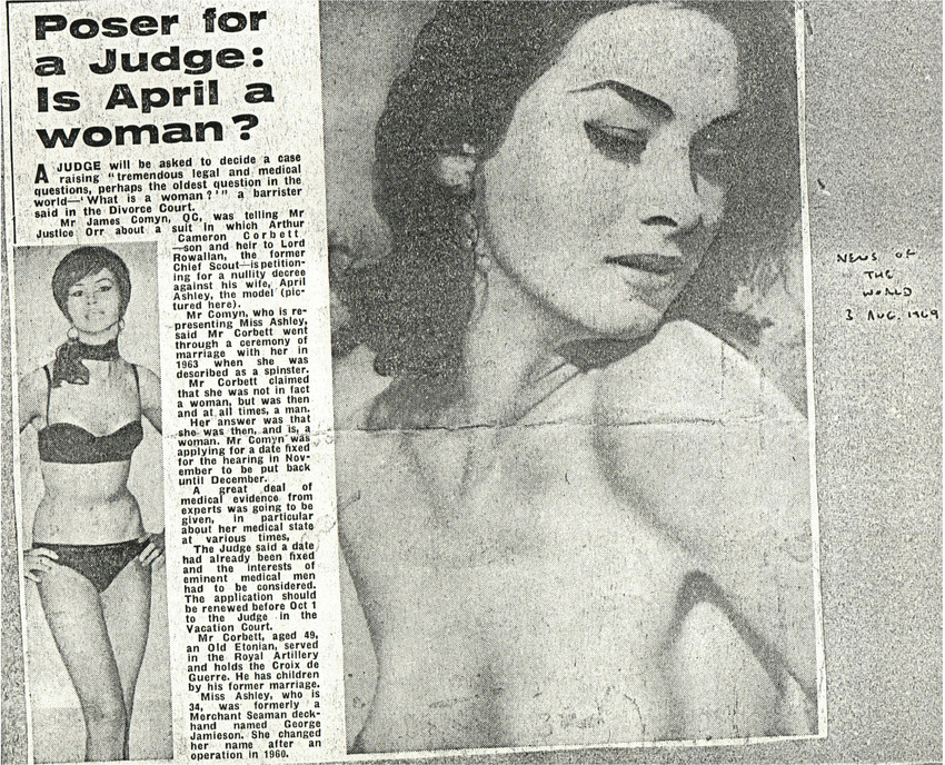 Download the full-sized PDF of Poser for a Judge: Is April a woman?