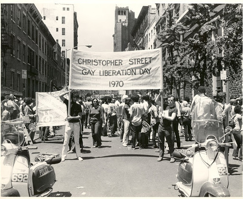Download the full-sized image of First Christopher Street Liberation Day March, 1970