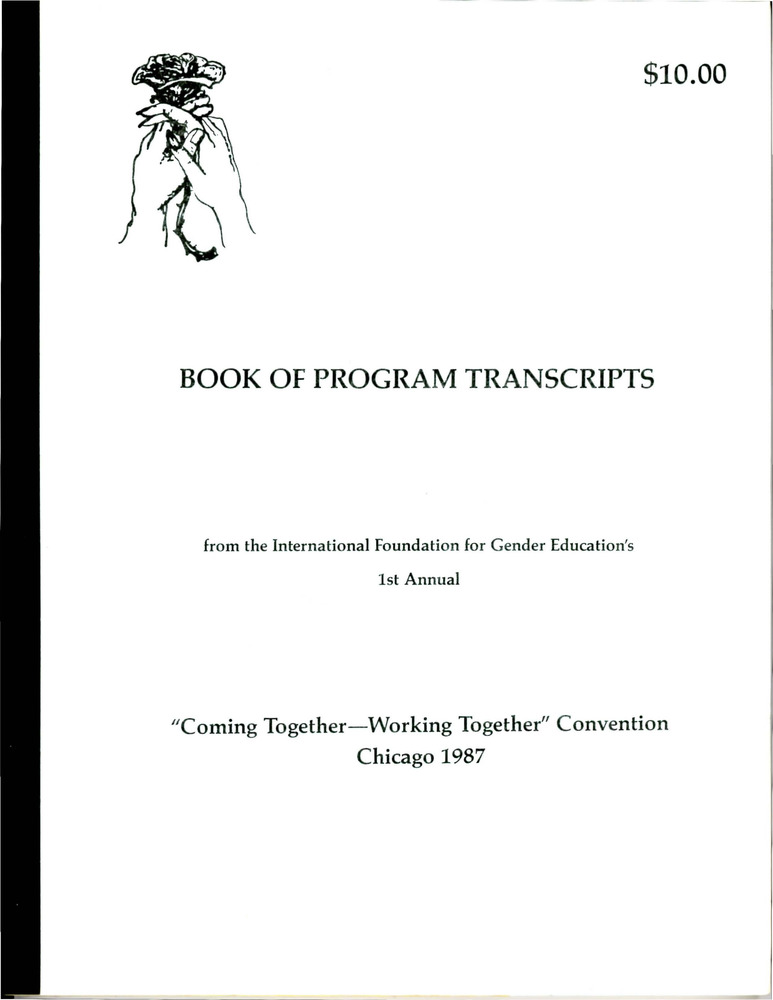 "Download the full-sized PDF of IFGE's 1st Annual ""Coming Together-Working Together"" Convention: Book of Program Transcripts"
