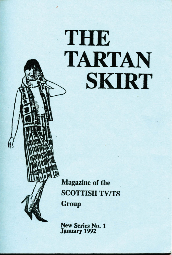 Download the full-sized PDF of The Tartan Skirt: Magazine of the Scottish TV/TS Group No. 1 (January 1992)