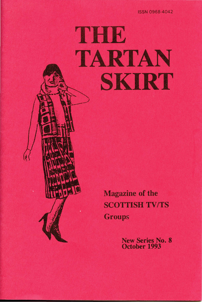 Download the full-sized PDF of The Tartan Skirt: Magazine of the Scottish TV/TS Group No. 8 (October 1993)