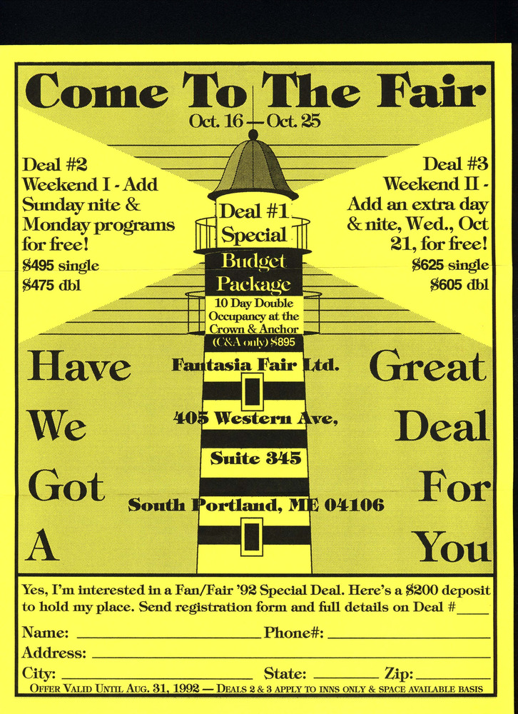 Download the full-sized PDF of Come To The Fair (Oct. 16 - 25, 1992)