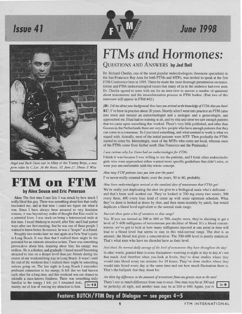 Download the full-sized PDF of Cross-Talk: The Gender Community's News & Information Monthly, No. 57 (July, 1994)