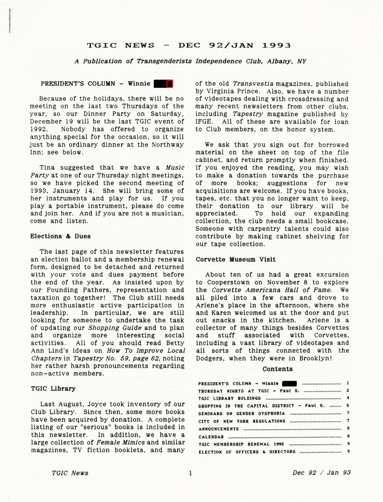 Download the full-sized PDF of TGIC News (December 1992-January 1993)