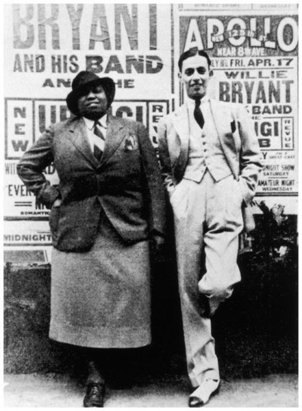 Download the full-sized image of Gladys Bentley and Willie Bryant