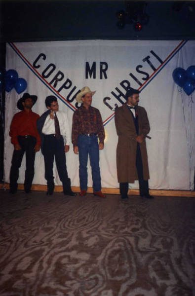 Download the full-sized image of Mr. Corpus Christi  pageant