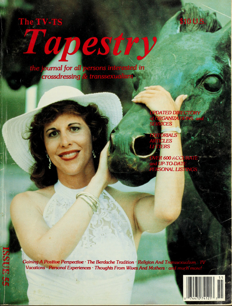 Download the full-sized image of The TV-TS Tapestry Issue 55 (1990)