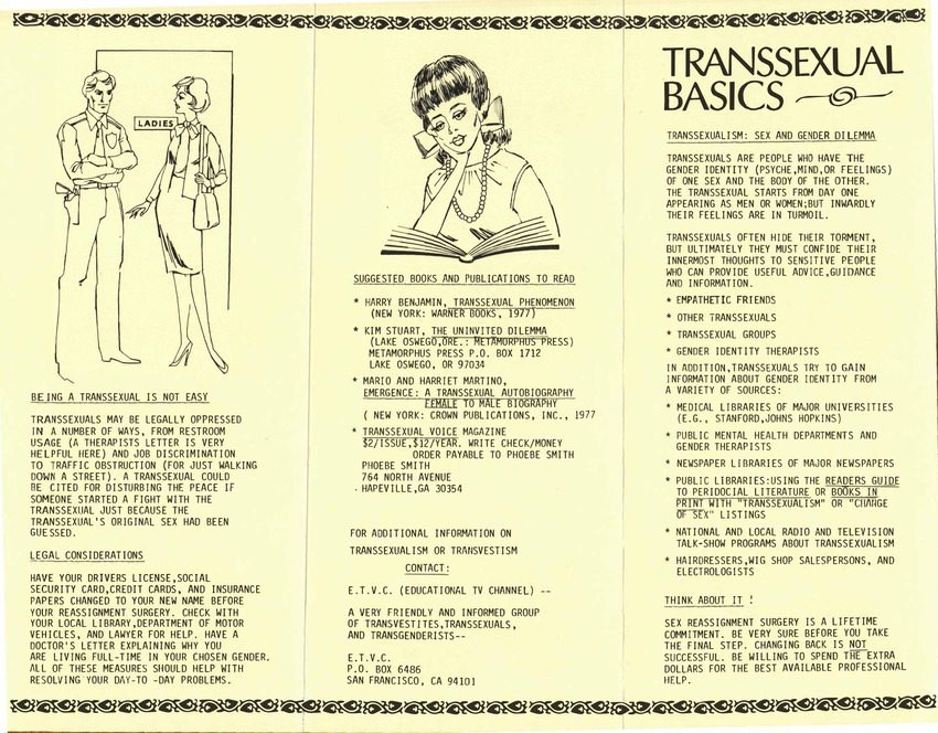 Download the full-sized PDF of Transsexual Basics