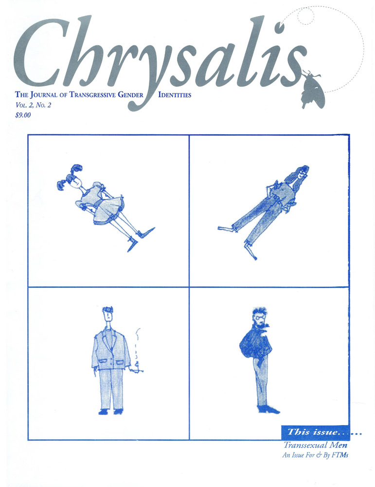 Download the full-sized PDF of Chrysalis Quarterly, Vol. 2 No. 2 (Summer, 1995)