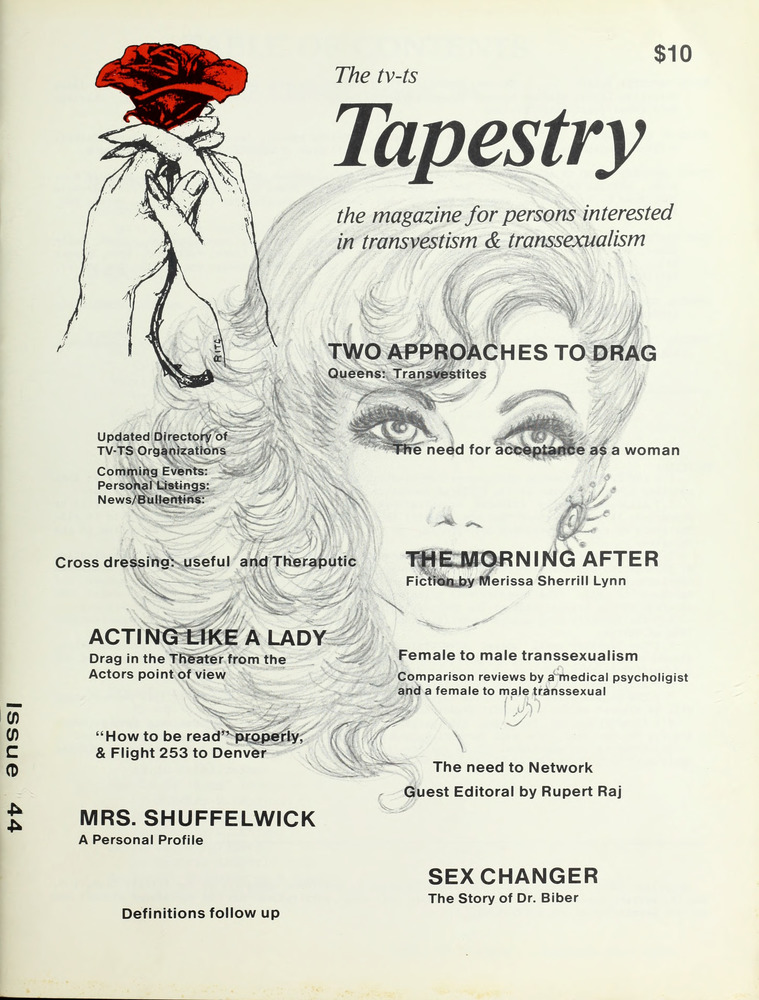 Download the full-sized image of The TV-TS Tapestry Issue 44 (1984)