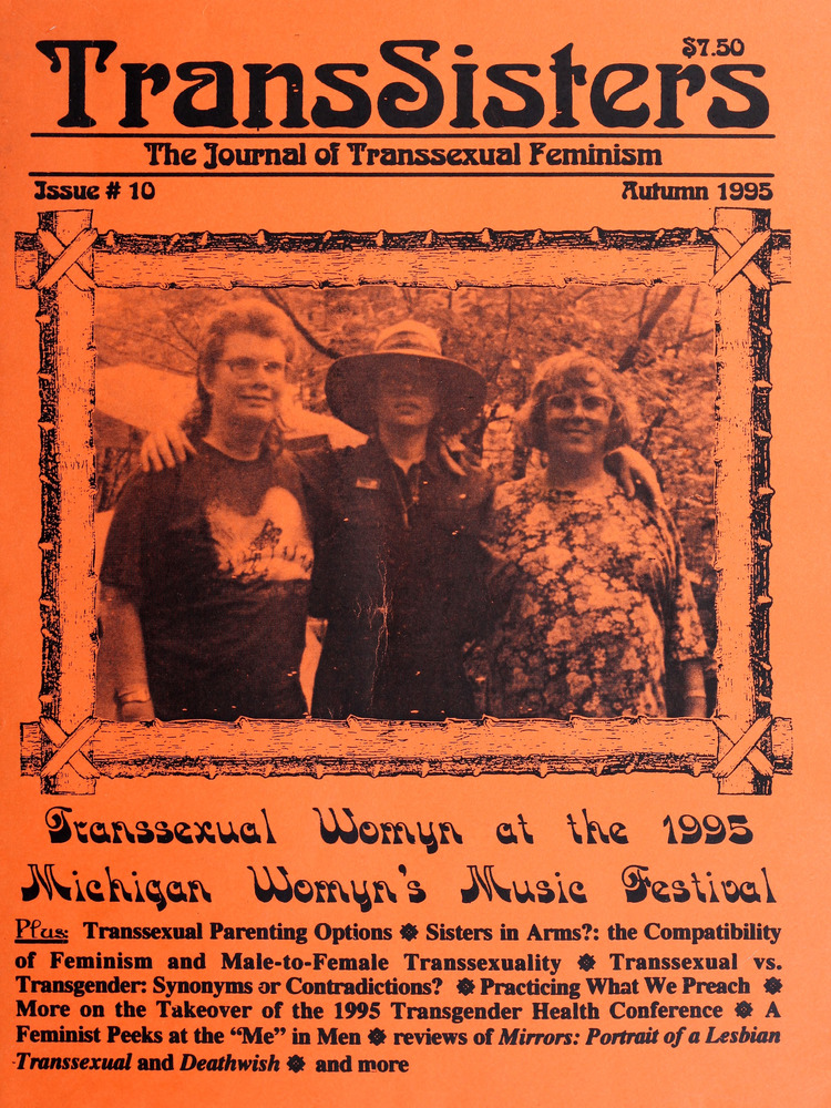 Download the full-sized image of TransSisters: The Journal of Transsexual Feminism No. 10 (Autumn 1995)