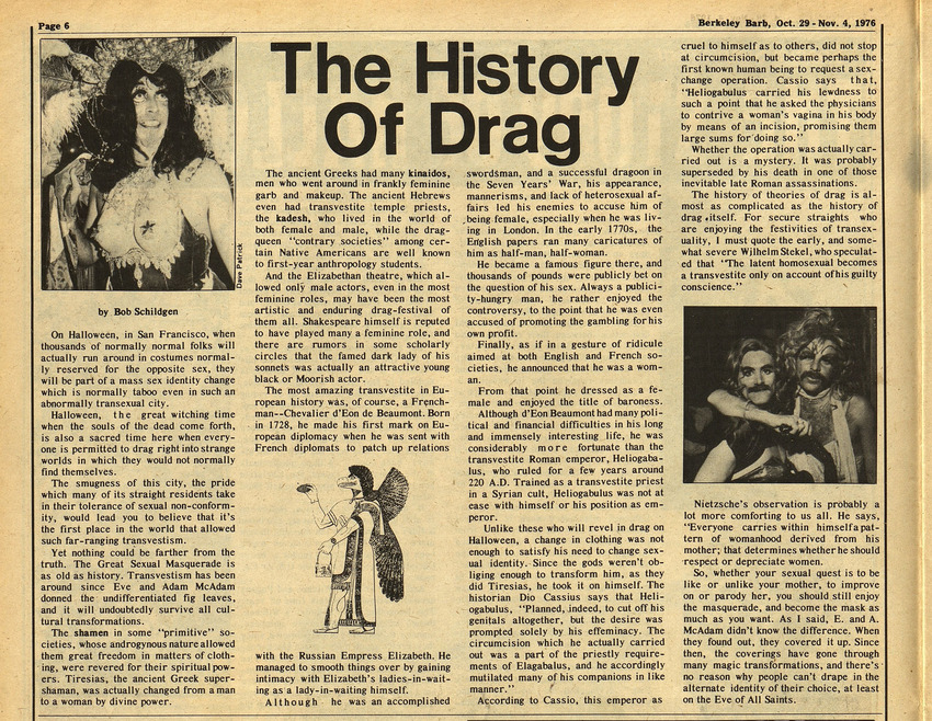 Download the full-sized image of The History of Drag