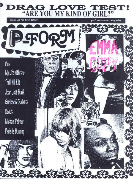 Download the full-sized image of P-Form Issue 23 (Fall 1991)