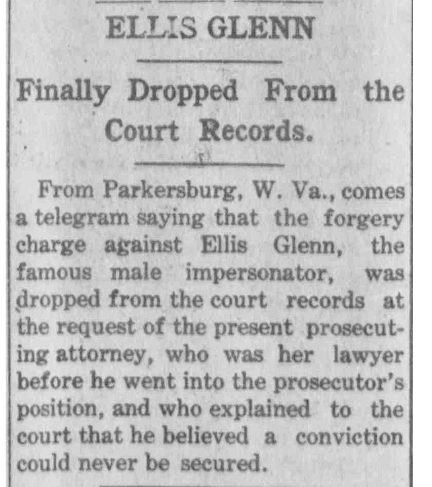 Download the full-sized PDF of Ellis Glenn Finally Dropped From the Court Records