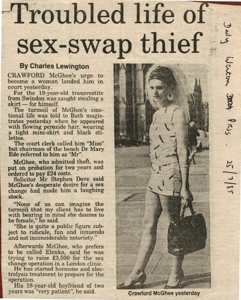 trans sex change in Swindon