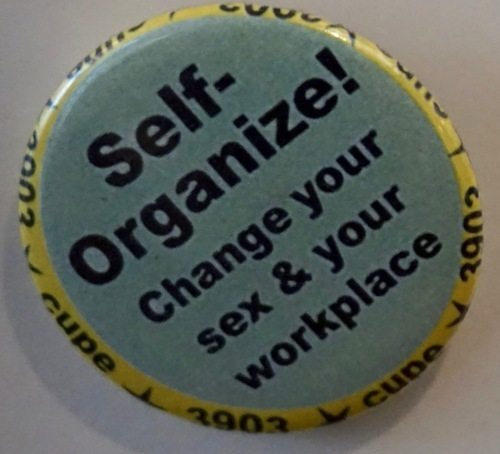 Download the full-sized image of Self-Organize! Change your sex & your workplace