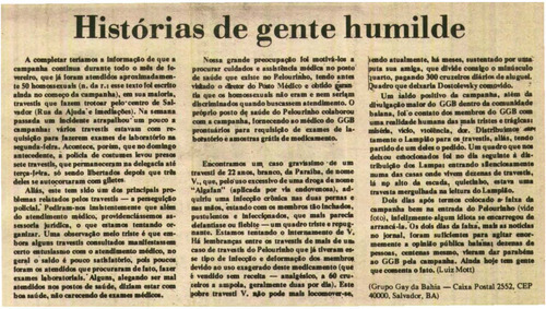 Download the full-sized image of Histórias de gente humilde