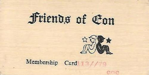 Download the full-sized image of Friends of Eon Membership Card