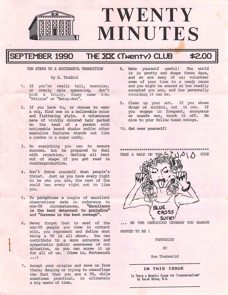 Download the full-sized PDF of Twenty Minutes (September, 1990)