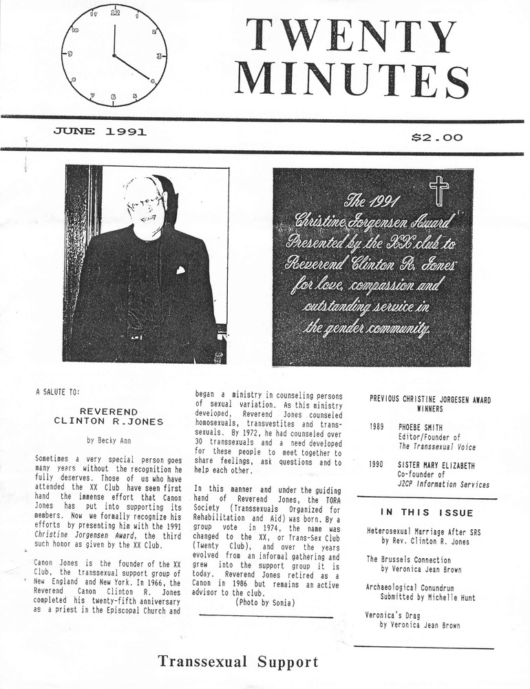 Download the full-sized PDF of Twenty Minutes (June, 1991)