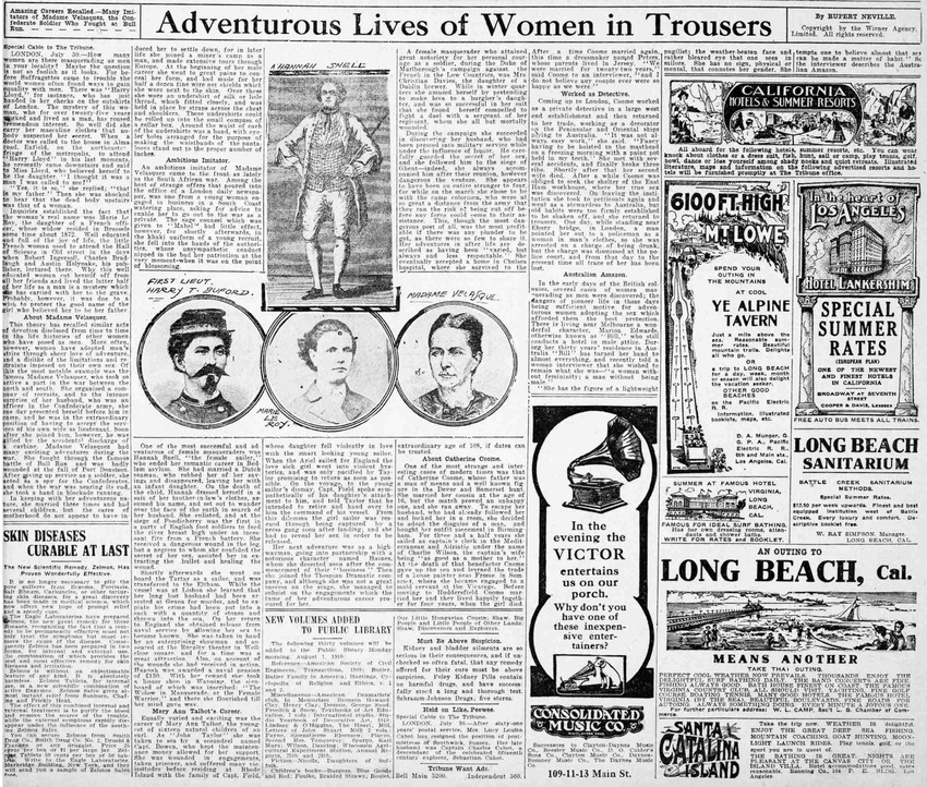 Download the full-sized PDF of Adventurous Lives of Women in Trousers