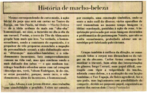 Download the full-sized image of História de macho-beleza