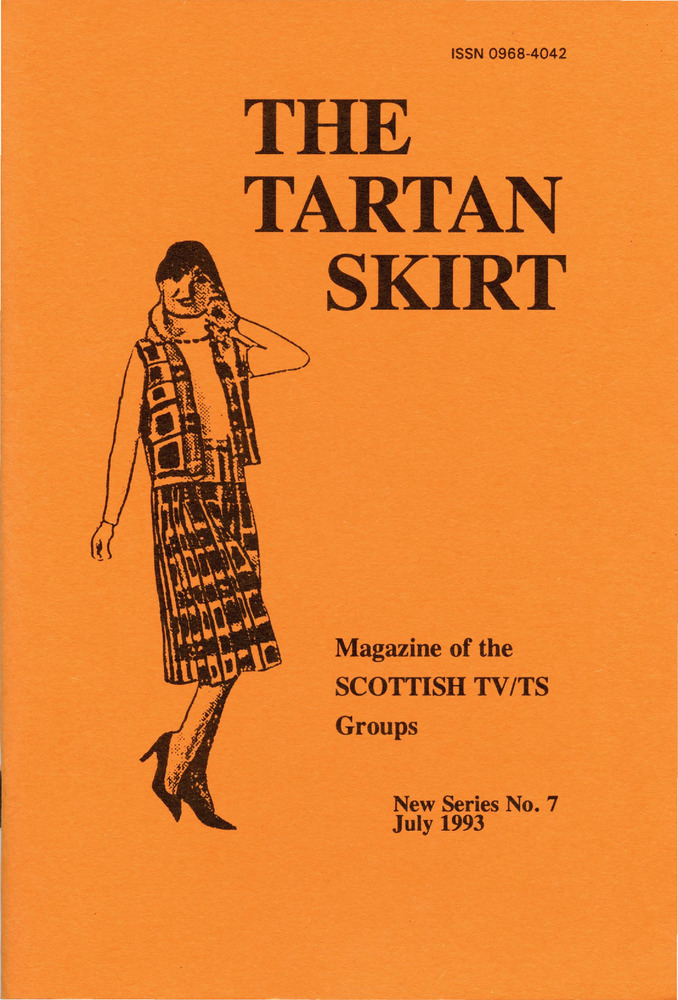 Download the full-sized PDF of The Tartan Skirt: Magazine of the Scottish TV/TS Group No. 7 (July 1993)
