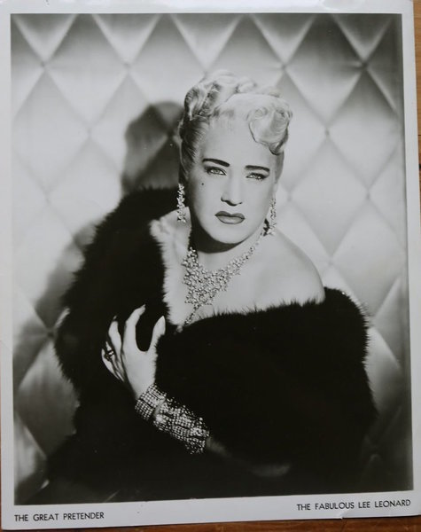 "Download the full-sized image of Photograph of ""The Fabulous Lee Leonard"""