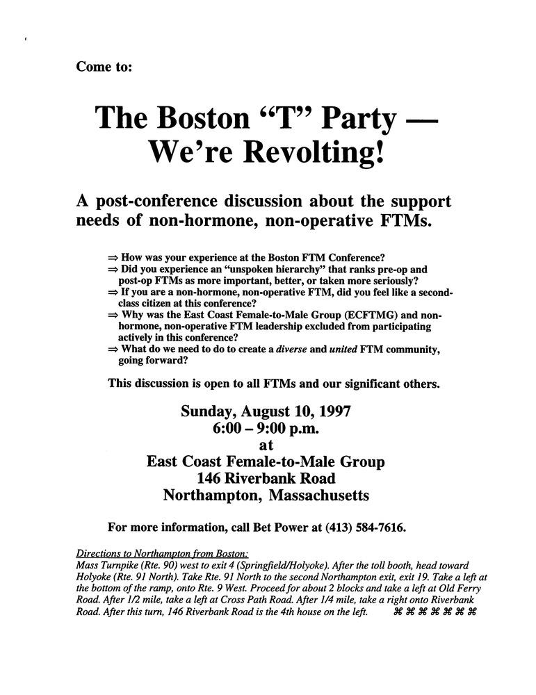 "Download the full-sized PDF of The Boston ""T"" Party - We're Revolting"