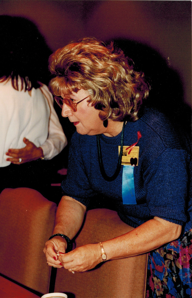 Download the full-sized image of Alison Laing at IFGE Houston (1992)