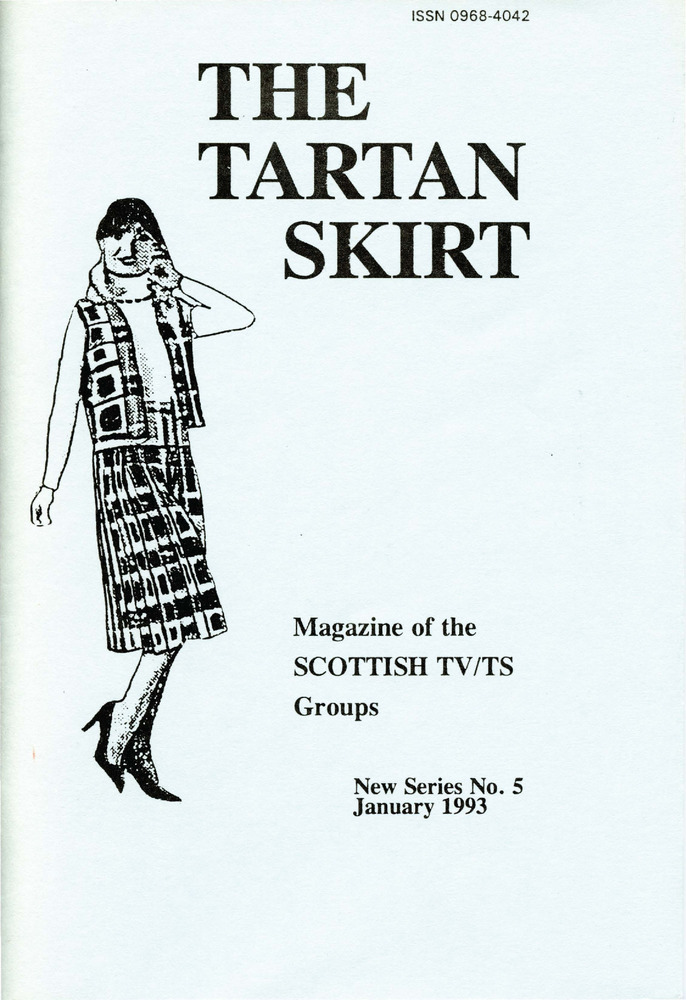 Download the full-sized PDF of The Tartan Skirt: Magazine of the Scottish TV/TS Group No. 5 (January 1993)
