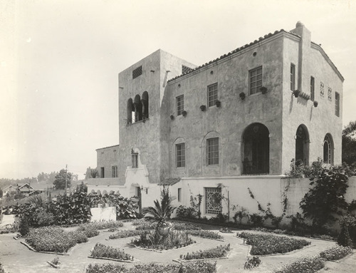 Download the full-sized image of Julian Eltinge's Residence, Pasadena, Cal. (10)