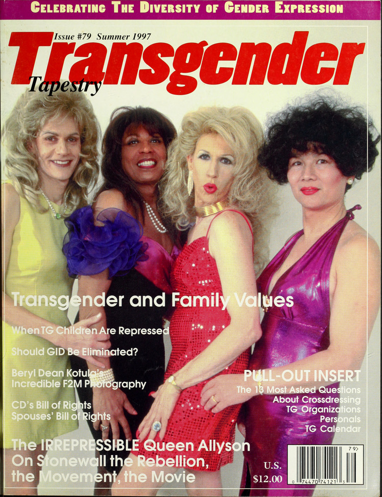 Download the full-sized image of Transgender Tapestry Issue 79 (Summer, 1997)