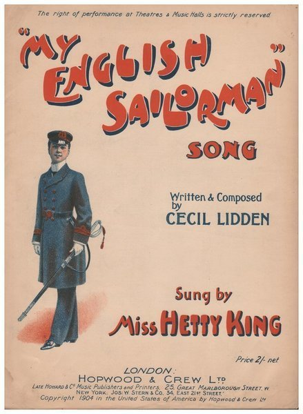 "Download the full-sized image of ""My English Sailorman"" Song"
