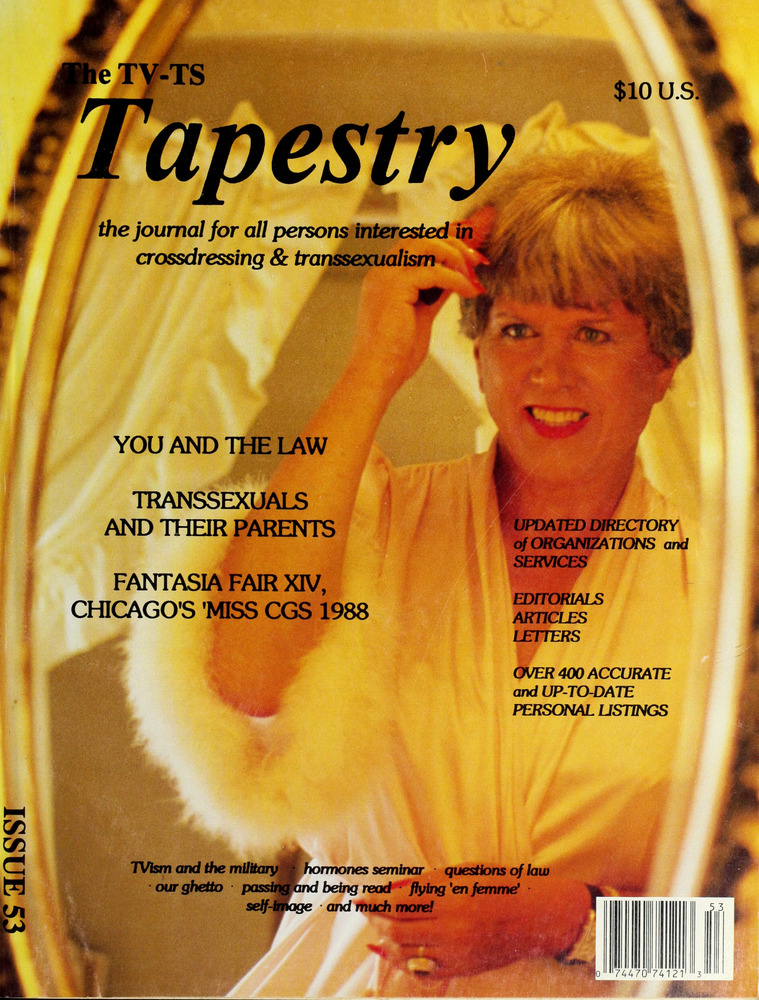 Download the full-sized image of The TV-TS Tapestry Issue 53 (1989)