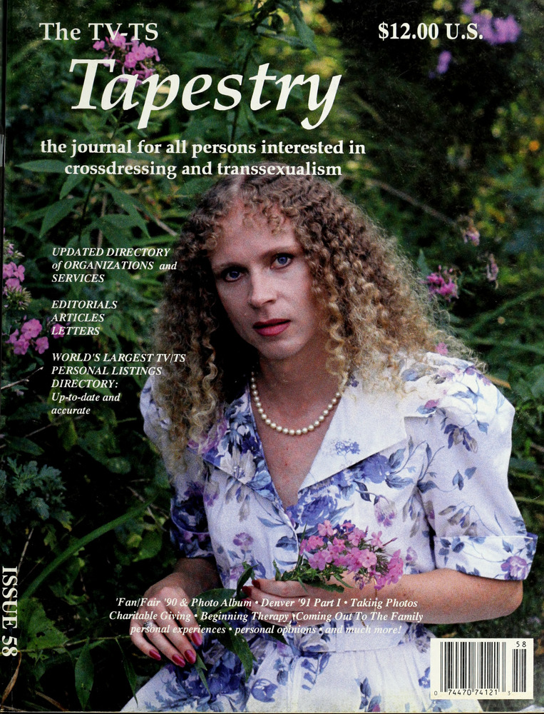 Download the full-sized image of The TV-TS Tapestry Issue 58 (1991)