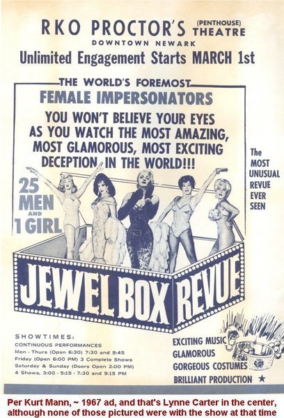 Download the full-sized image of Jewel Box Revue Advertisement (1)