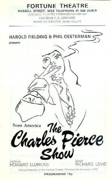 Download the full-sized image of The Charles Pierce Show Program