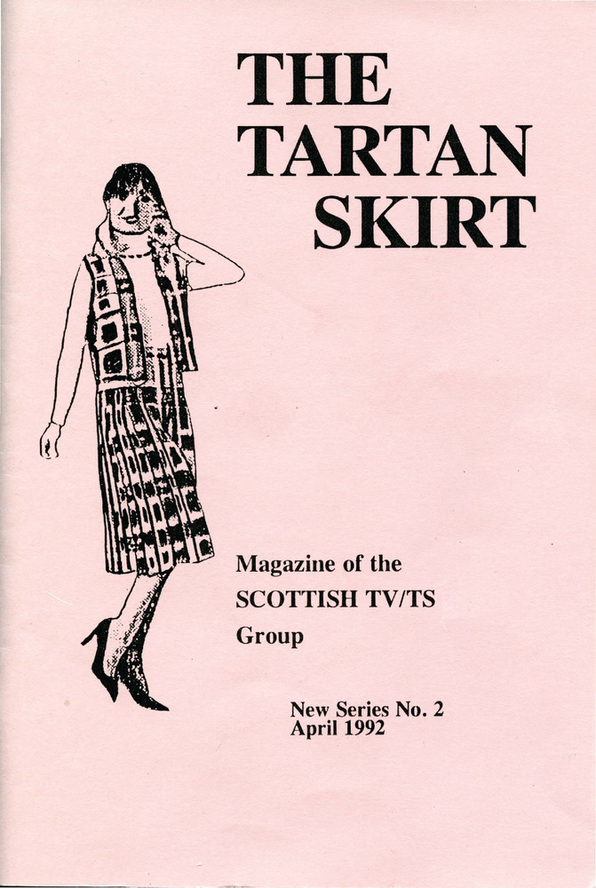 Download the full-sized PDF of The Tartan Skirt: Magazine of the Scottish TV/TS Group No. 2 (April 1992)
