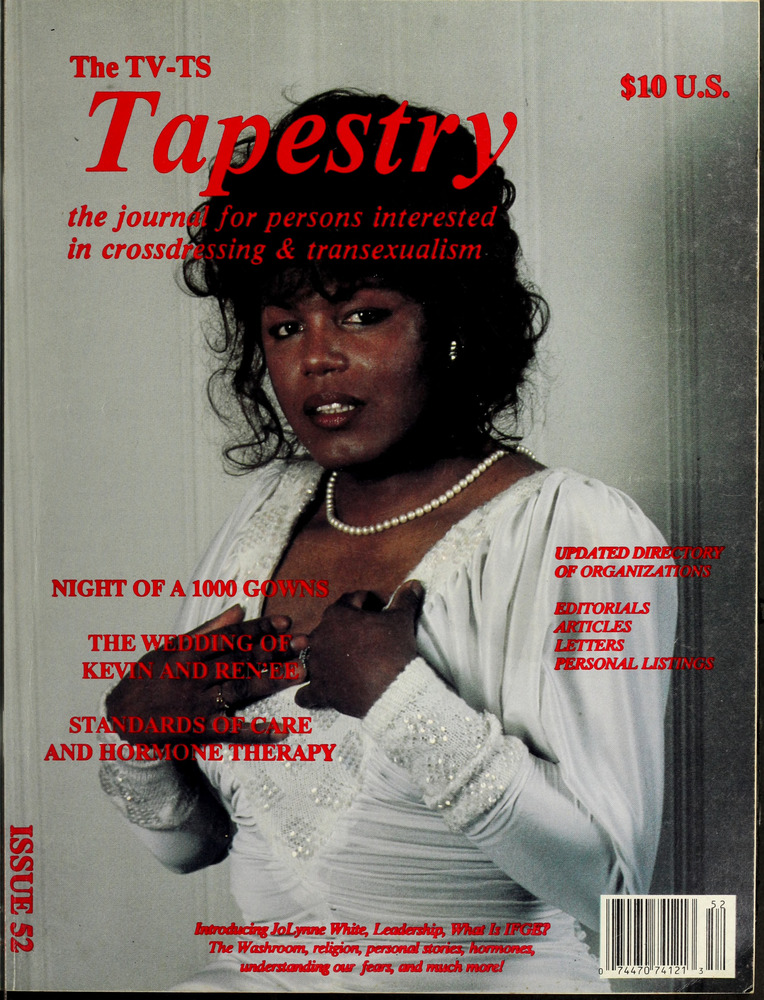 Download the full-sized image of The TV-TS Tapestry Issue 52 (1988)