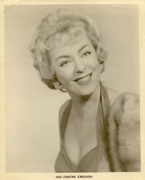 Download the full-sized image of Miss Christine Jorgensen