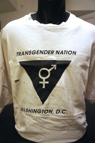 "T-Shirt from the direct action group ""Transgender Nation"""